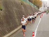 高柳小学校:マラソン大会