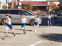 高柳西小学校:マラソン大会
