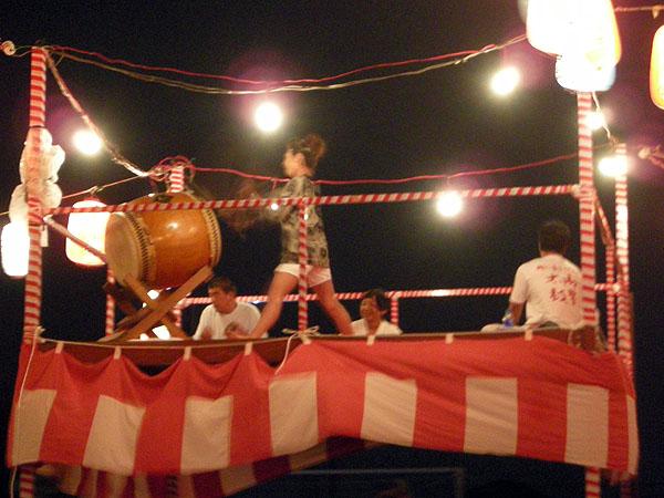 盆踊り/高柳小学校
