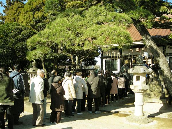高靇神社初詣