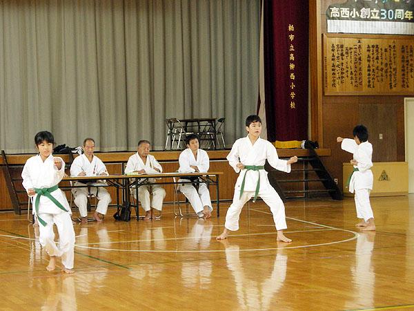 '09「育明館」空手審査