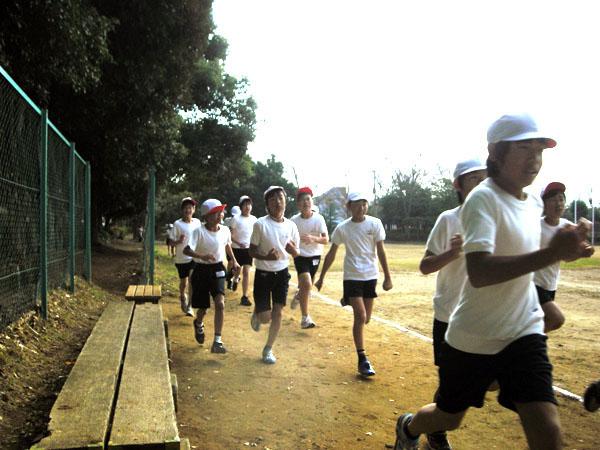 '10マラソン大会/六実第三小学校