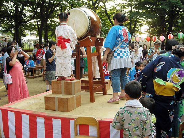 晴山幼稚園盆踊り大会