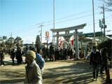 初詣/高靇神社