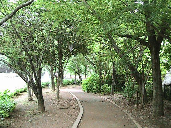 貝柄山公園(遊歩道・広場編)